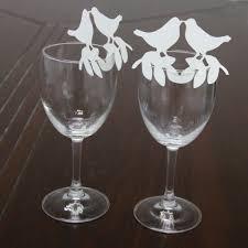 noms de table mariage par 5 marque place blanc oiseau decoration table mariage porte