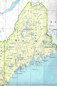 map of maine maine maps perry castañeda map collection ut library