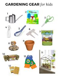 gardening gear for kids