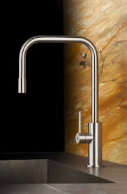 kitchen faucet stainless steel gorgeous stainless steel faucet with sleek and curvy design jpg