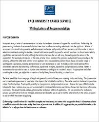 sample letter of recommendation for internship 6 examples in