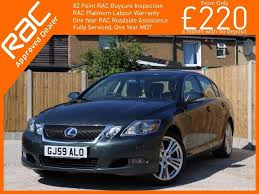 lexus woodford woodford green used 2009 lexus gs 450h 3 5 se cvt 4dr for sale in croydon