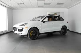 porsche cayenne 2016 white 2016 porsche cayenne turbo s for sale in colorado springs co