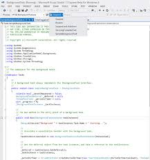 How To Write A Resume For A Promotion Debug A Background Task Uwp App Developer Microsoft Docs