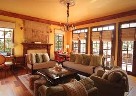 rustic living room ideas homesfeed good looking of rustic living room with brown sofa pillows fireplace pendant chandelier and window shader