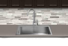 modern white brown subway marble backsplash tile backsplash com