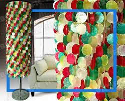 Lampshade For Floor Lamp Floor Lamp Shades Shells Tiles Capiz Shell Jumbo Pacific