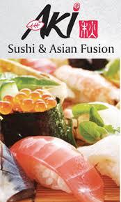 promo cuisine aki sushi fusion order 410 grand parkway