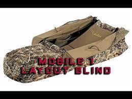 Gander Mountain Layout Blind Cabela U0027s Mobile 1 Layout Blind Youtube