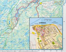 Map Northern Europe by Map Of Northern Norway 5 Kummerly Frey U2013 Mapscompany