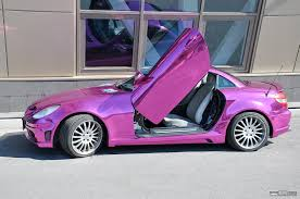 pink mercedes amg mercedes slk in purple awesome cars pinterest car rims