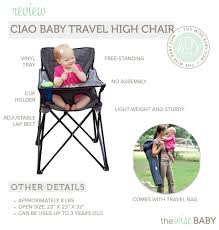 Bag High Chair Ciao Baby Portable High Chair Review U2022 The Wise Baby