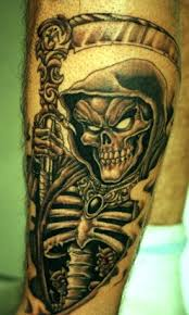 tattoos the depictions of the grim reaper