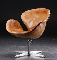 Swan Chair Leather Svane Chair By Arne Jacobsen Lænestole Pinterest Arne