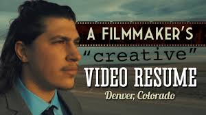 Best Video Resumes by A Filmmaker U0027s Creative Video Resume Denver Co Youtube