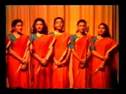 iisd foundation day 99 2000 welcome song secondary girls section