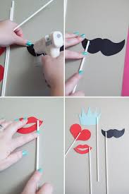 photo booth diy learn how to make your own photo booth stick props