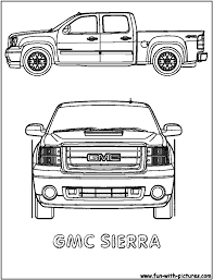 pickup truck coloring pages bestofcoloring coloring pages gmc