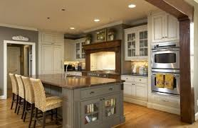 kitchens with different colored islands gorga s kitchen i like this