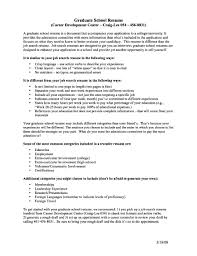 Academic Resume Format Academic Resume For Graduate Free Resume Example And