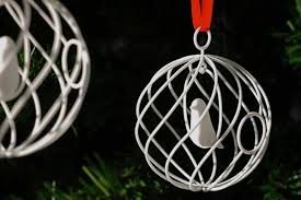 White House Christmas Ornament - your 3d printed christmas ornament could end up in the white house