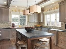 kitchen light grey kitchen cabinets stained wood kitchen