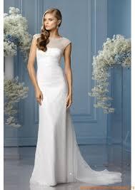 robe de mari e l gante de mariee sobre et elegante