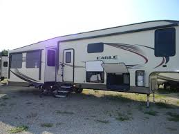 it u0027s party time with this fifth wheel 2016 jayco eagle 355mbqs at