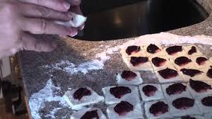 how to make kolachky the polish cookie youtube