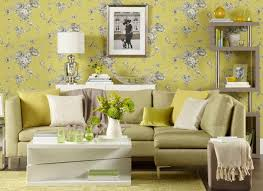 livingroom wallpaper chartreuse living room with floral wallpaper living room wallpaper