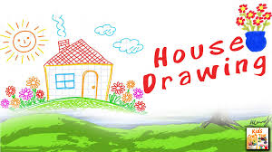 house drawing how to make a house draw on paper hd kids