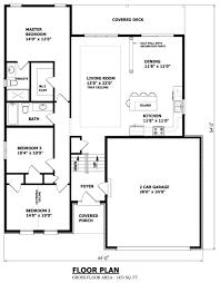 floor simple bungalow floor plans
