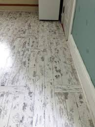 Locking Laminate Flooring Hton Bay Whitewashed Oak 8 Mm Thick X 11 1 2 In Wide X 46