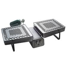 elevate grill 286 sq in 2 burner propane gas grill in black