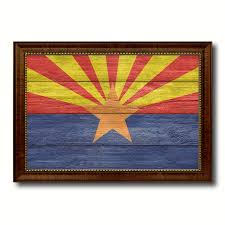 Arizona Home Decor Arizona State Flag Home Decor Office Wall Art Decoration Bedroom