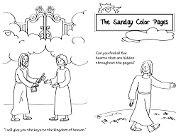 21st sunday in ordinary time coloring pages atx catholic