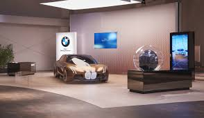 bmw dealership design exterior design for bmw vision next100 world tour 2016 on behance