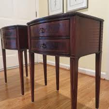 find more malcolm scates hepplewhite style mahogany nightstands