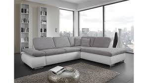 sofa grau weiãÿ ecksofa weiß grau hervorragend ecksofa vida 244x174cm sofa