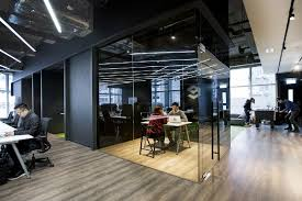 Modern Office Space Ideas Hong Kong Warehouse Converted To Creative Office Space Freshome