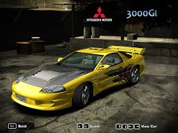 mitsubishi 3000gt need for speed most wanted mitsubishi 3000gt nfscars