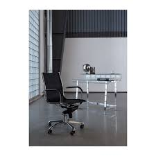 bureau en verre design bureau design en verre visible clear kare