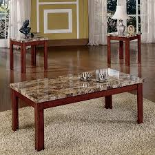 table astounding modern coffee table set 3 pack occasional set