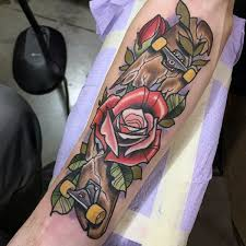 100 male flower tattoo designs hundred dollar bill rose