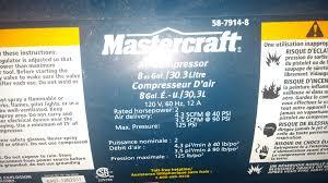 air compressor just hums
