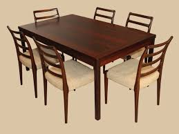 Rosewood Dining Room Set Modern Rosewood Dining Table And 6 Chairs In Fairfax
