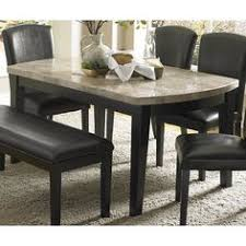 Granite Top Dining Table Set - i would love a granite table so much easier to take care of