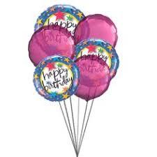 balloon delivery san antonio tx say happy birthday with 3 heart shape mylar balloons 6
