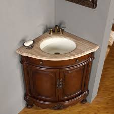 Bathroom Ideas The Style Of Corner Bathroom Sink For Minimalist - Corner bathroom sink and cabinet