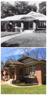 high house built 1920 craftsman bungalow with clipped hipped roof